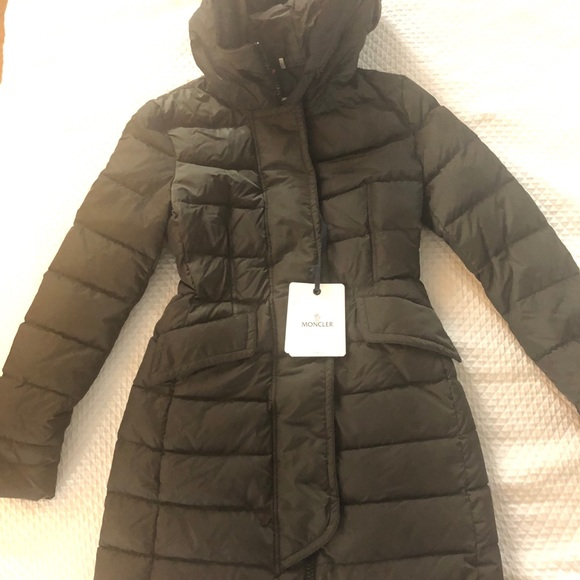 Details zu Moncler Womens Real Fur Parka Size 2 BNWT